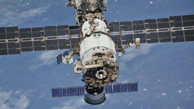 Пожарная сигнализация сработала на Международной космической станции