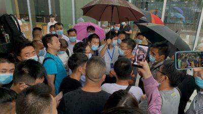 Митинги в Китае: крупнейший китайский застройщик на грани дефолта