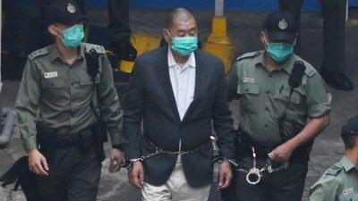 Заключённый гонконгский активист Джимми Лай награждён медалью Свободы