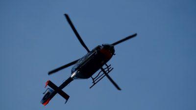 В Ижевске вертолёт с пациентом упал на крышу здания