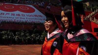 В Китае студенты недовольны усилением политического воспитания в университетах