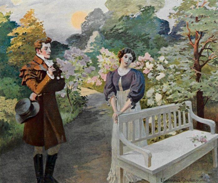 8 11 Onegin and Tatyana illustration e1631007688797 - Чайковский и его стремление к возвышенному