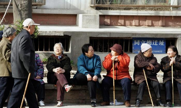 Старение населения сократит рабочую силу Китая