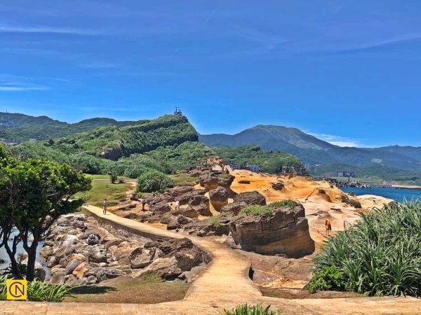 Геопарк Елю славится множеством потрясающих скальных образований. (Billy Shyu via Nspirement)