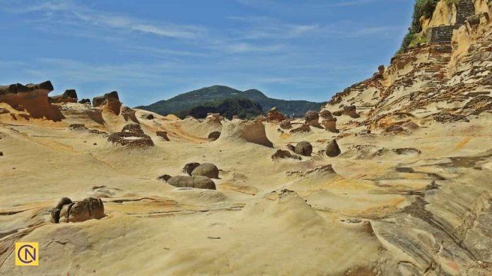 Третий участок геопарка «Елю» на севере Тайваня. (Изображение: Billy Shyu via Nspirement)    Epoch Times Россия