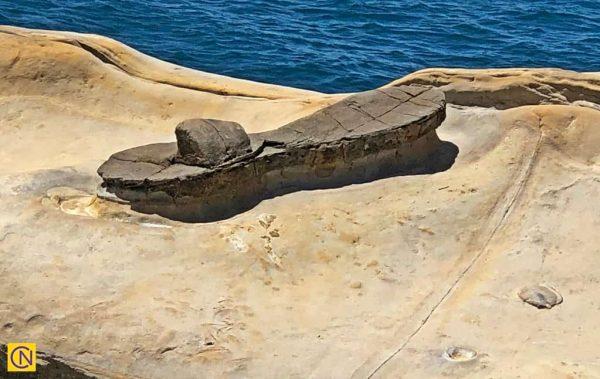 Знаменитая скала «Волшебная туфелька» в геопарке Елю. (Billy Shyu via Nspirement)