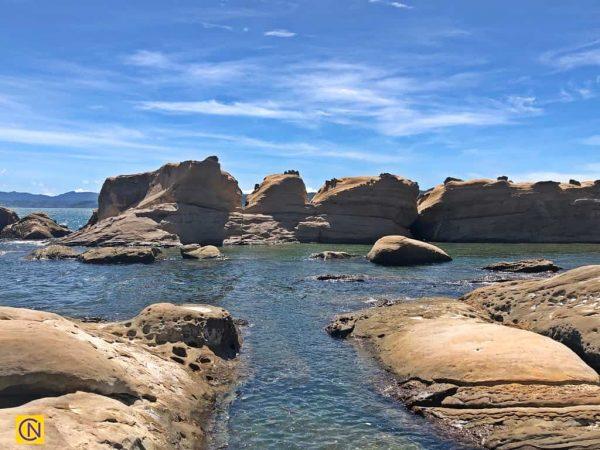 Парк представляет собой узкий мыс с уникальными скальными образованиями. (Billy Shyu via Nspirement)