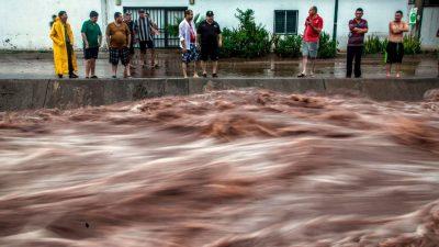 17 мексиканцев с COVID-19 погибли в больнице от мощного наводнения
