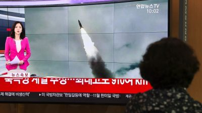 Очередной ракетный запуск Северной Кореи мог быть испытанием нового оружия