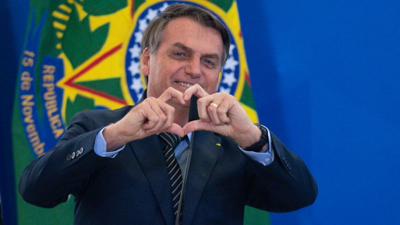 Президент Бразилии Жаир Болсонару (Photo by Andressa Anholete/Getty Images)   Epoch Times Россия