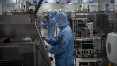 Китай намерен поднять промышленность за счёт высоких технологий
