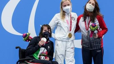 Мария Павлова стала чемпионкой Паралимпийских игр в плавании