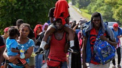 Тысячи жителей Гаити мигрируют вСША после убийства президента иземлетрясения