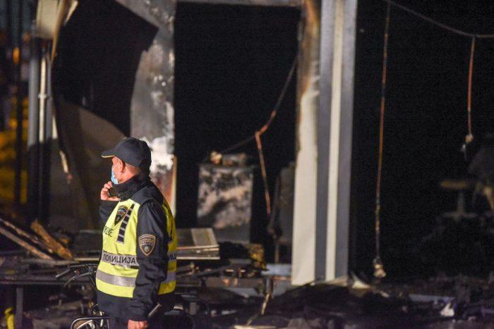 15 человек погибли и20 пострадали при пожаре вковидной больнице Северной Македонии