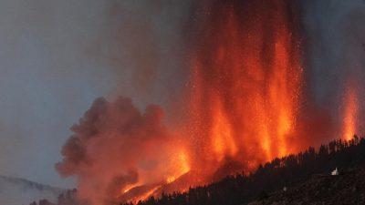Ущерб от извержения вулкана на Канарских островах превысит 400 млн евро