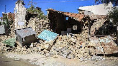 В Греции произошло сильное землетрясение магнитудой 6,0