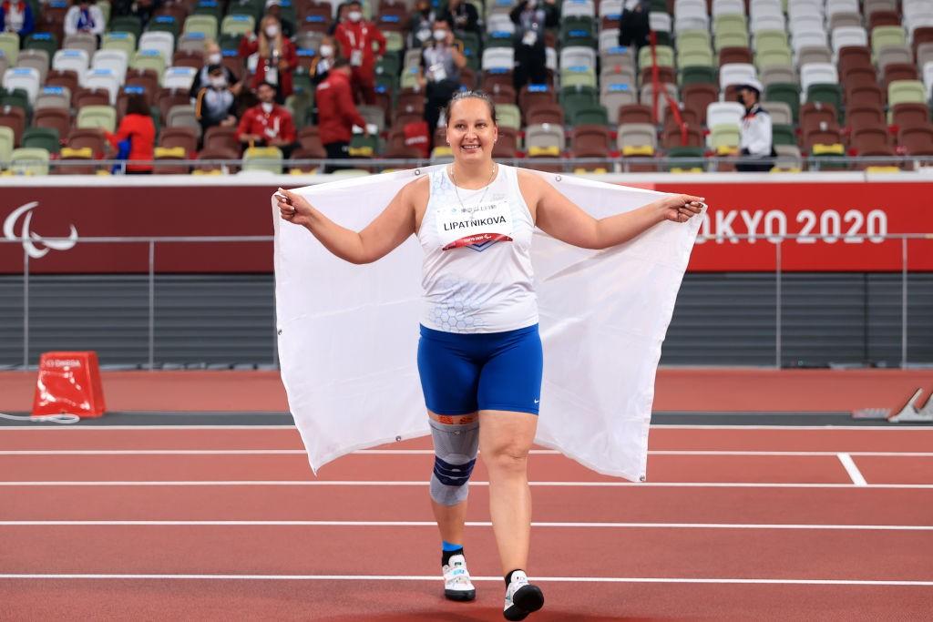 Победа Липатниковой вывела Россию на второе место в медальном зачёте Паралимпиады