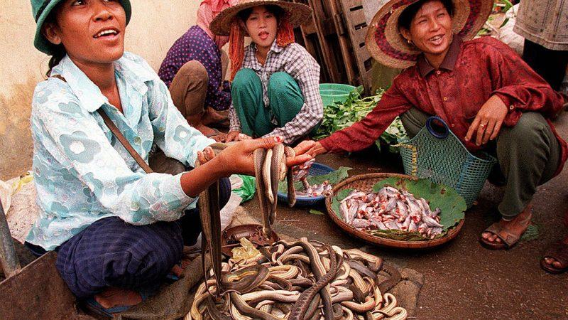 Женщины Камбоджи