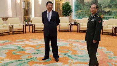 Пекин укрепляет контроль над армией сновыми генералами