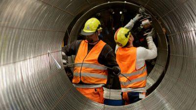 Через неделю завершится строительство газопровода «Северный поток-2»