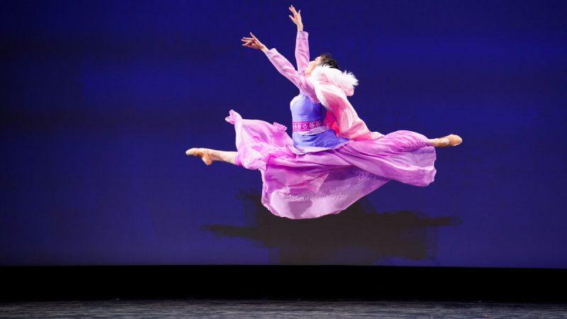 Мэрилин Ян выступила на 9 Международном конкурсе классического китайского танца NTD вНью-Йорке 4сентября 2021 года. (Larry Dye/The Epoch Times)    Epoch Times Россия