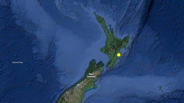 Землетрясение магнитудой 4,9 потрясло Новую Зеландию