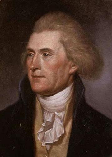Ближе к концу жизни Томас Джефферсон написал письма с советами нескольким молодым людям. Из почтения к третьему президенту США некоторые родители назвали своих сыновей в честь президента.