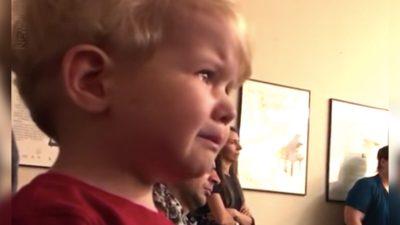 Малыш плакал, слушая Лунную сонату Бетховена на фортепианном концерте своей сестры