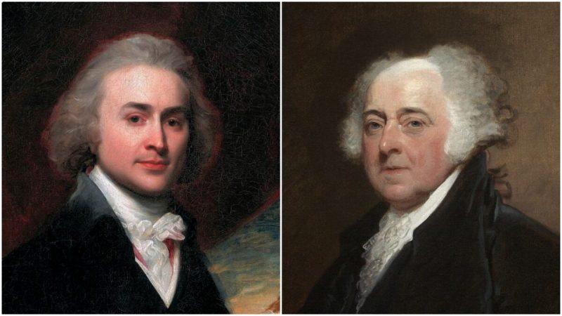 Портреты Джона Куинси Адамса, 28 лет и Джона Адамса. (Всеобщее достояние)  | Epoch Times Россия