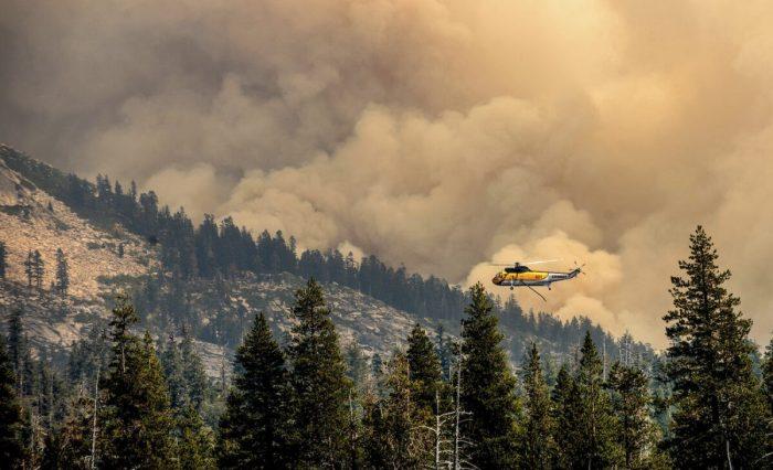 Пожар «Калдор» в Калифорнии: Байден объявил овведении режима ЧС