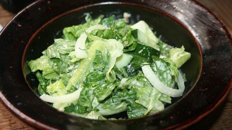 Сливочный салат Люси