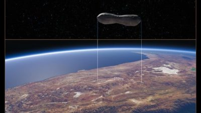 Телескоп VLT делает чёткие снимки необычного астероида Клеопатра