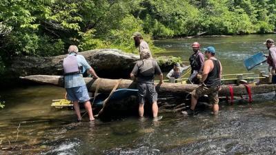 В Южной Каролине найдено древнее каноэ