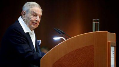 Джордж Сорос предрёк новый глобальный кризис