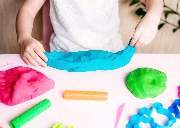 Изготовление пластилина с натуральными красителями