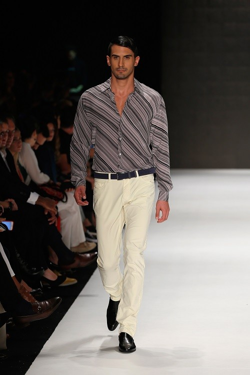 Mercedes-Benz Fashion Week, австралийский бренд Sportscraft. (Stefan Gosatti/Getty Images)