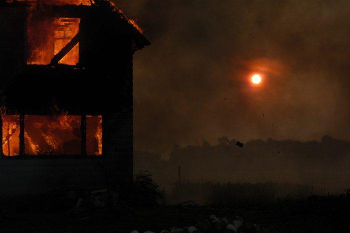 В Хакасии от пожара пострадала заимка отшельницы Агафьи Лыковой