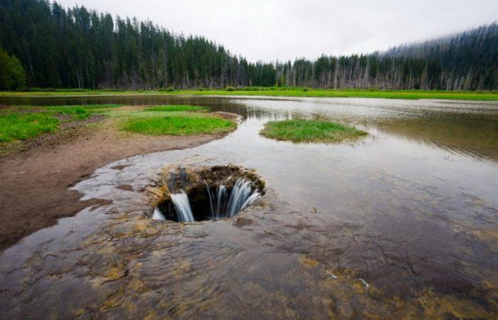 Квонексамач, озеро, которое исчезает каждый год
