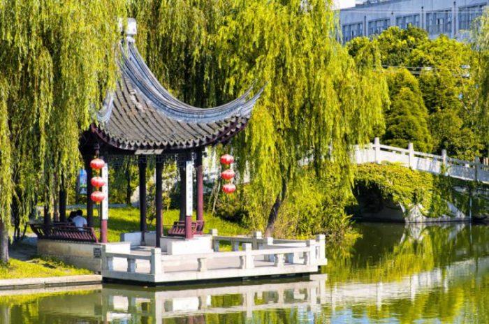 Семь очаровательных водных деревень Китая