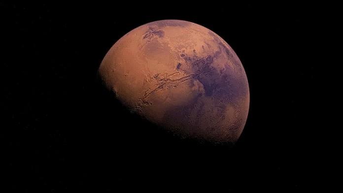 Новое исследование показывает, что марсианский снег пыльный и может растаять