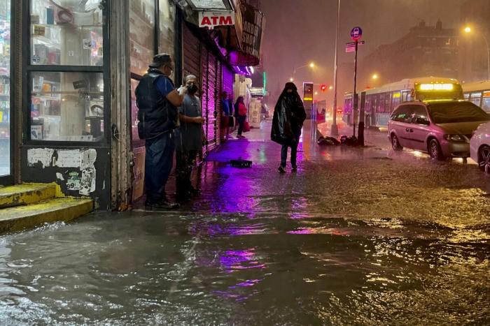 Ураган «Ида» снова разбушевался: вНью-Йорке и Нью-Джерси наводнение, есть погибший