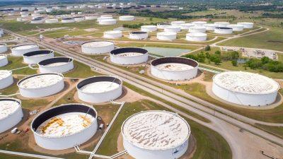 В США сокращаются запасы нефти