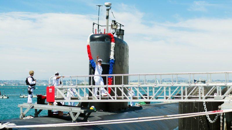 Моряки на подлодке