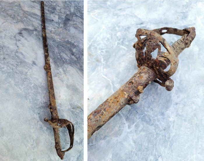 В Оттаве на стройплощадке обнаружен боевой меч XIX века