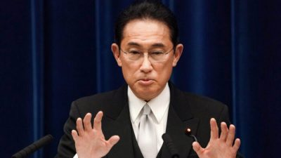 Новый премьер Японии обещает укрепить экономику и противостоять угрозам безопасности со стороны Китая
