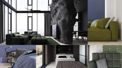 Тренды 2022: модные оттенки и цвета в интерьере
