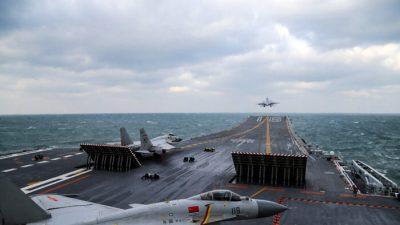 Китай усилил агрессию, отправив 39 боевых самолётов в зону ПВО Тайваня