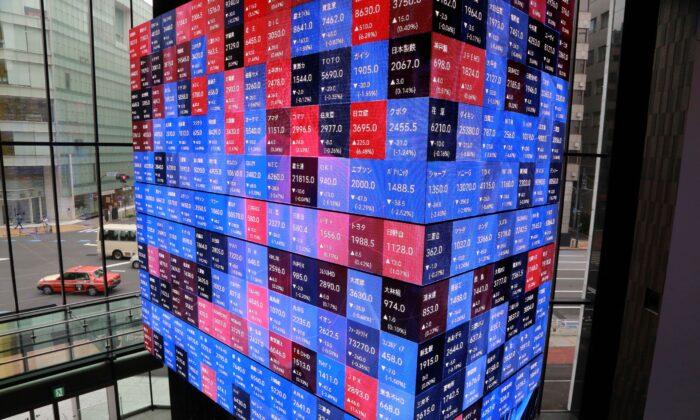 Азиатские фондовые индексы падают после ускорения инфляции в Австралии