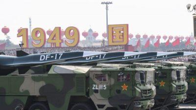 Военный эксперт: Китай вряд ли проводит секретные испытания гиперзвуковых ракет