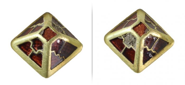В Норфолке нашли деталь англосаксонского средневекового меча с драгоценными камнями